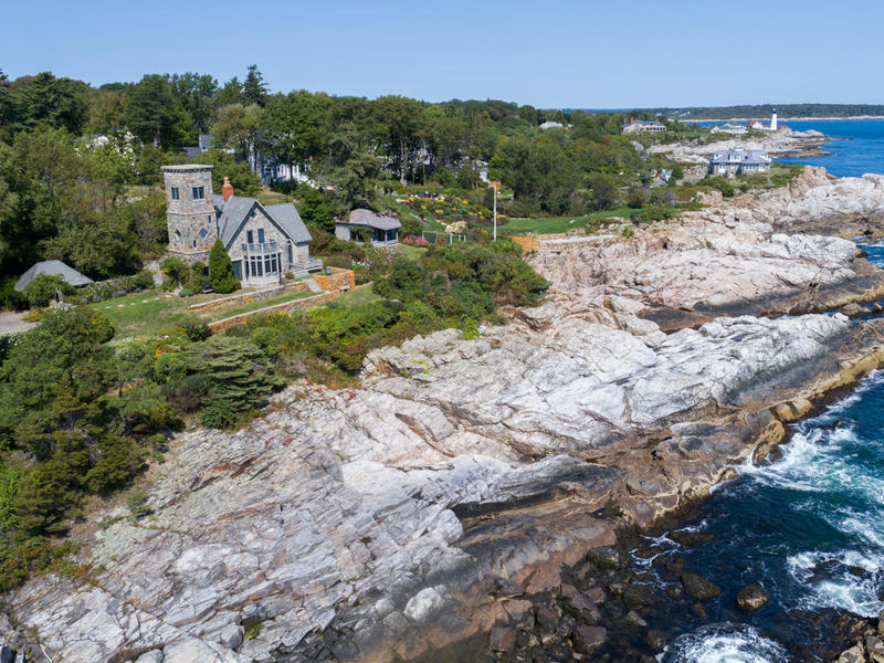 oceanfront castle for sale in cape elizabeth  maine luxury real estate in maine